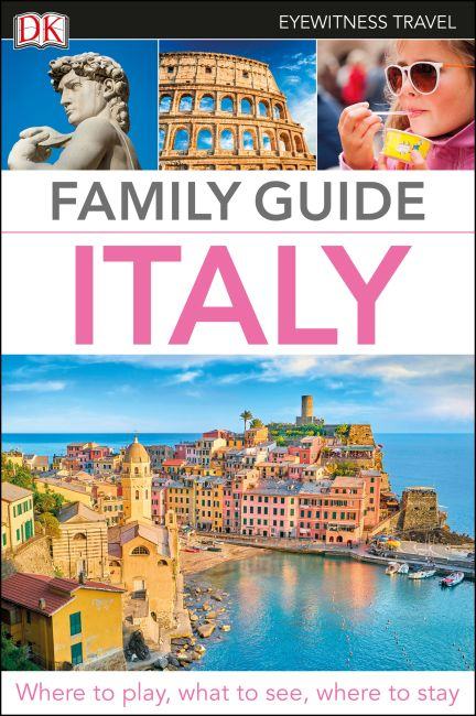 Flexibound cover of DK Eyewitness Family Guide Italy