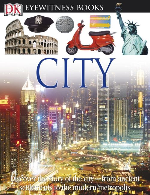 eBook cover of DK Eyewitness Books: City
