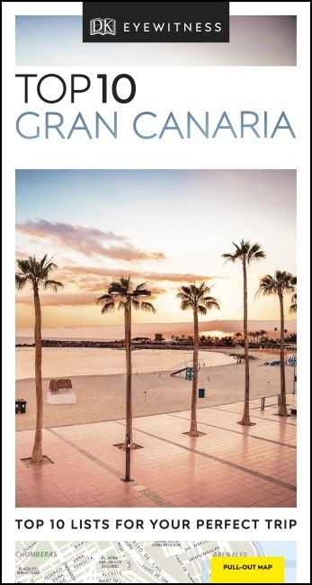Paperback cover of DK Eyewitness Top 10 Gran Canaria
