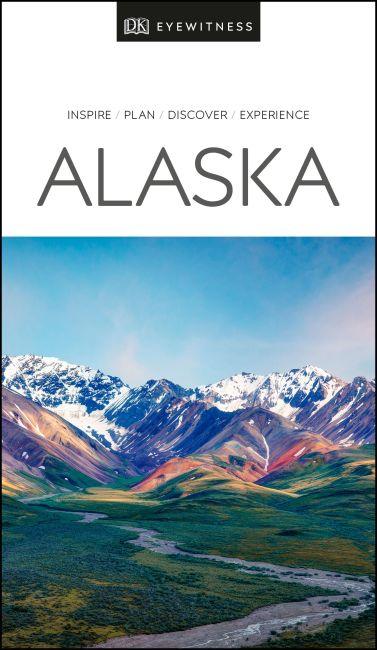 Paperback cover of DK Eyewitness Alaska