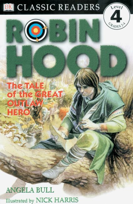 Paperback cover of DK Readers L4: Classic Readers: Robin Hood