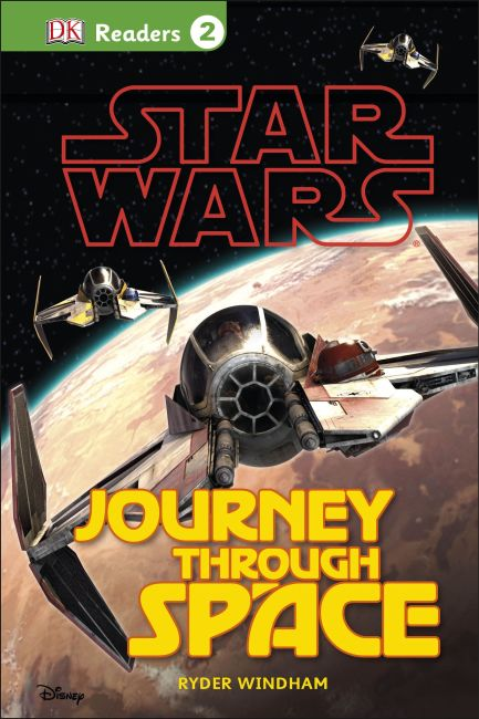 Hardback cover of DK Readers L2: Star Wars: Journey Through Space
