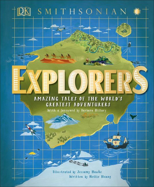 Hardback cover of Explorers