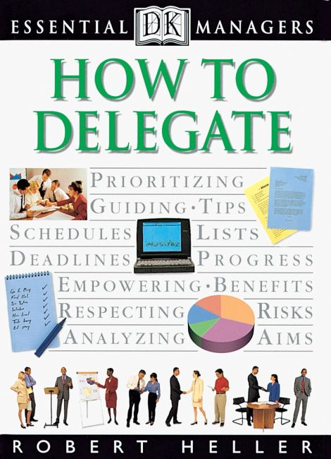 eBook cover of DK Essential Managers: How to Delegate