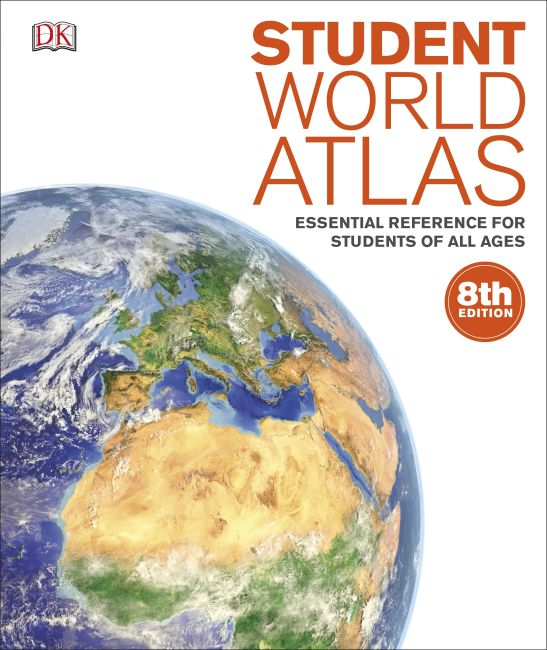 Paperback cover of Student World Atlas