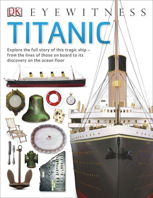 Paperback cover of Titanic