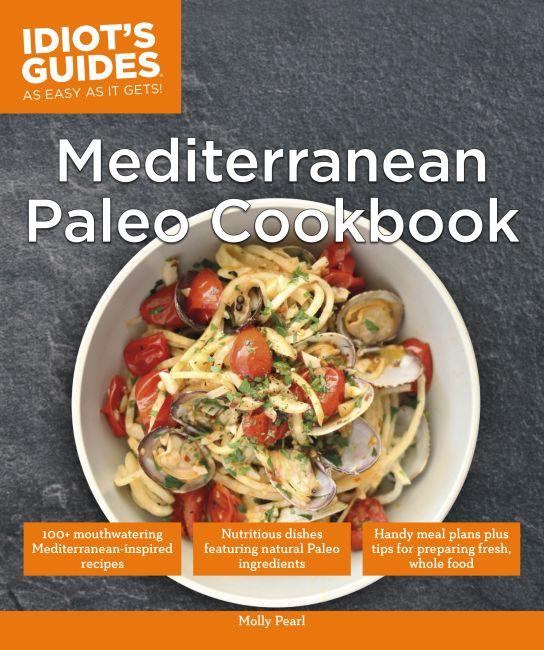 Paperback cover of Mediterranean Paleo Cookbook