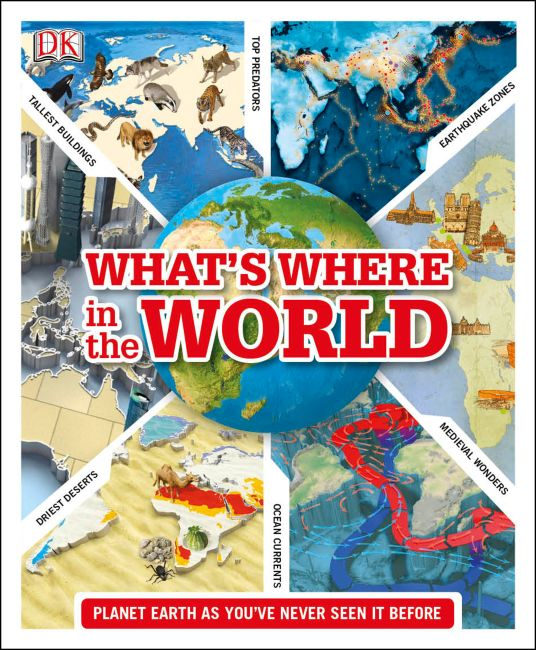 Hardback cover of What's Where in the World
