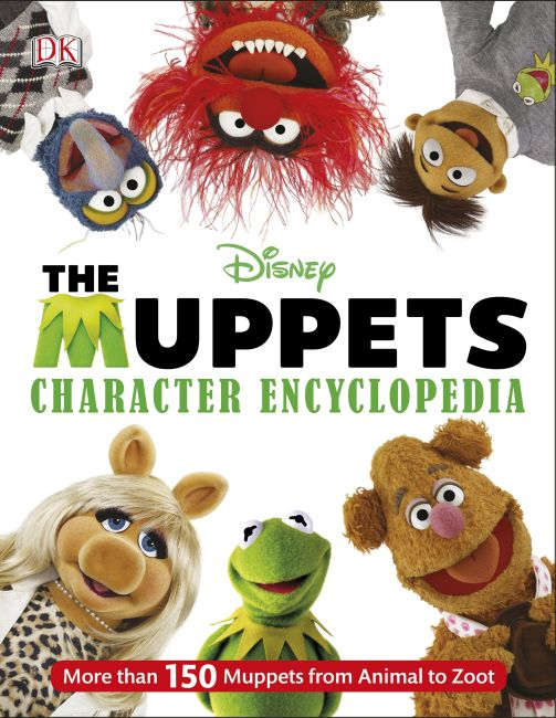Hardback cover of Muppets Character Encyclopedia