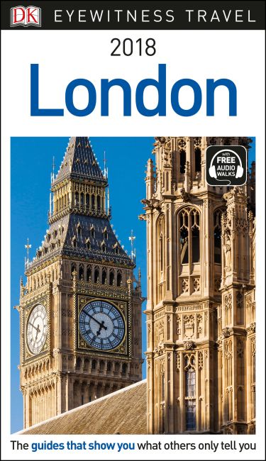 Paperback cover of DK Eyewitness Travel Guide London
