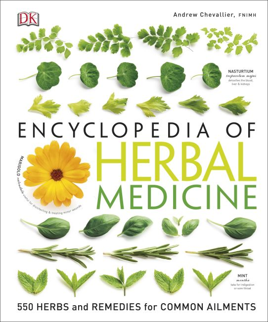 Hardback cover of Encyclopedia Of Herbal Medicine