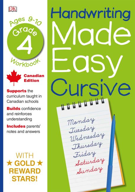 Paperback cover of Handwriting Made Easy Cursive Writing