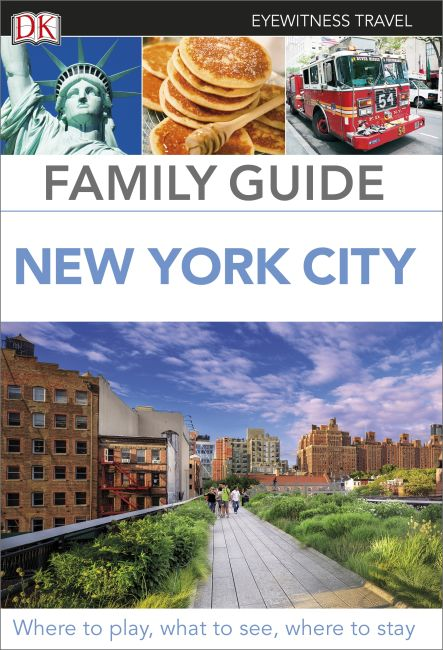Paperback cover of DK Eyewitness Family Guide New York City