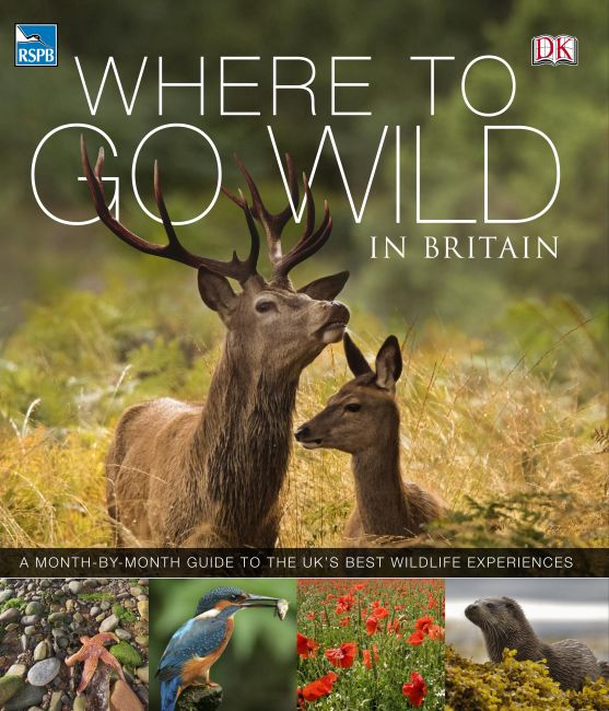 eBook cover of RSPB Where To Go Wild in Britain
