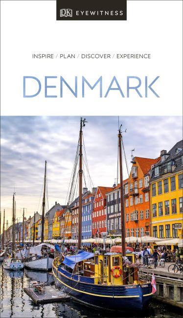 Paperback cover of DK Eyewitness Travel Guide Denmark