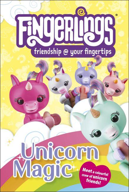 Hardback cover of Fingerlings Unicorn Magic