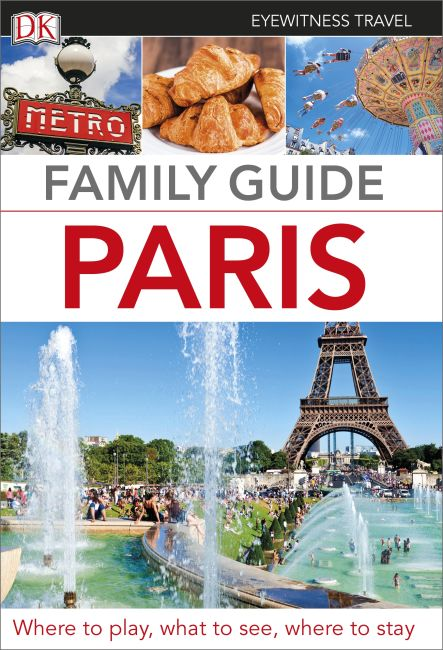 Paperback cover of Family Guide Paris