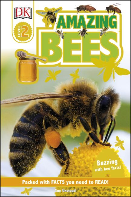 Hardback cover of DK Readers L2: Amazing Bees