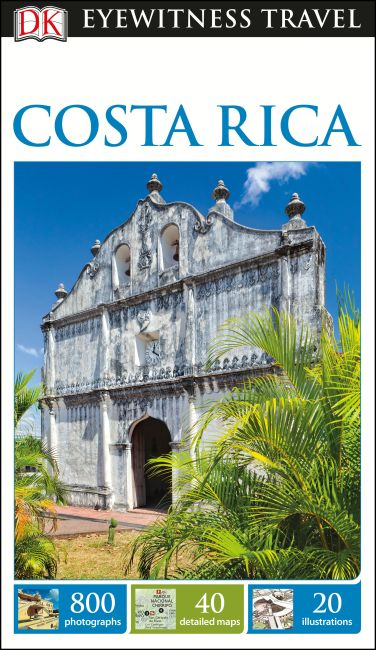 Flexibound cover of DK Eyewitness Travel Guide Costa Rica