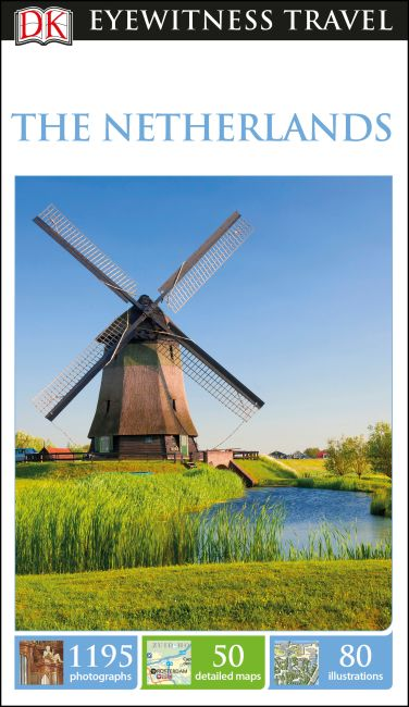 Flexibound cover of DK Eyewitness Travel Guide The Netherlands