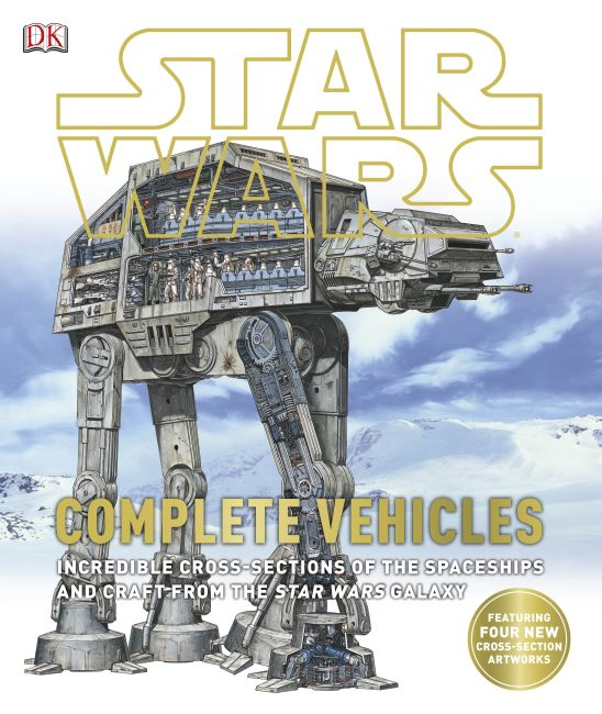 Hardback cover of Star Wars: Complete Vehicles