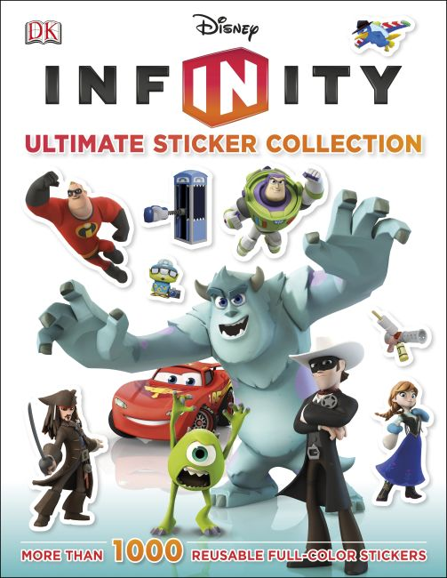 Paperback cover of Ultimate Sticker Collection: Disney Infinity