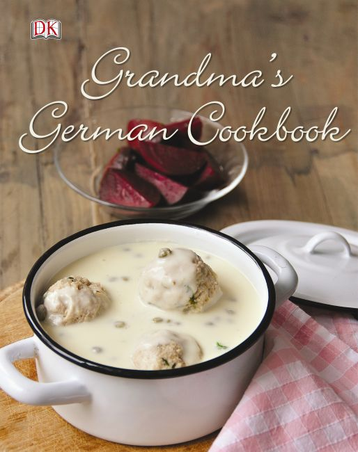 Hardback cover of Grandma's German Cookbook