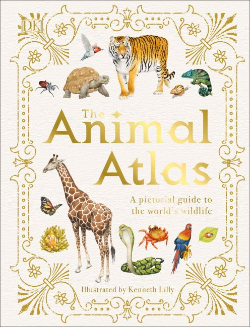 Hardback cover of The Animal Atlas