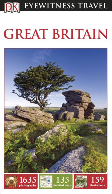 Paperback cover of DK Eyewitness Travel Guide Great Britain