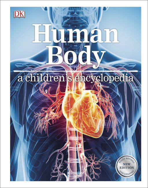 Hardback cover of Human Body A Children's Encyclopedia