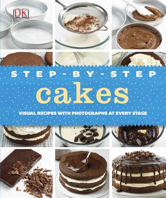 eBook cover of Step-by-Step Cakes