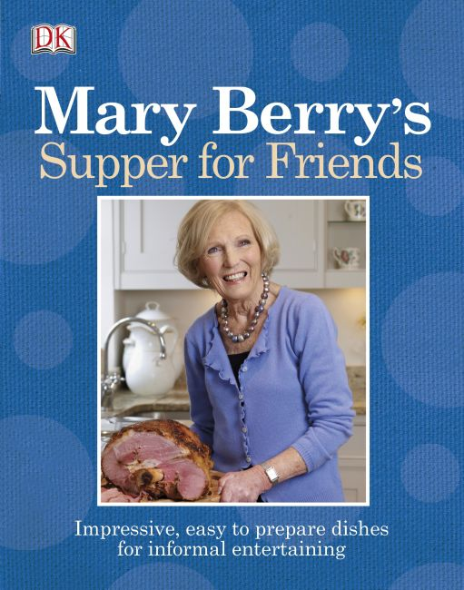 eBook cover of Mary Berry's Supper for Friends