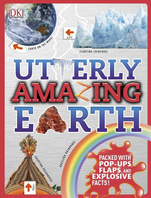 Hardback cover of Utterly Amazing Earth