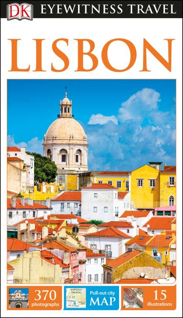 Flexibound cover of DK Eyewitness Travel Guide Lisbon