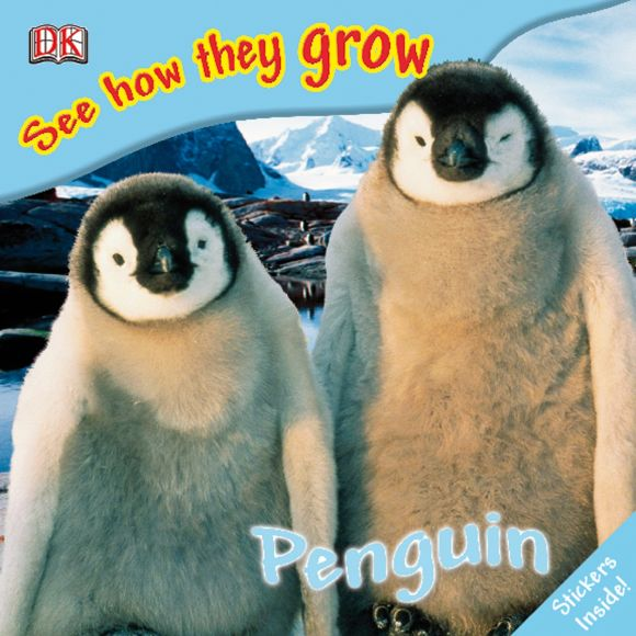 eBook cover of See How They Grow: Penguin