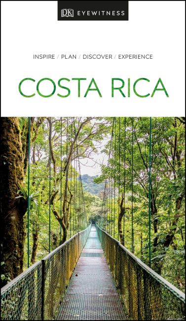 Paperback cover of DK Eyewitness Travel Guide Costa Rica