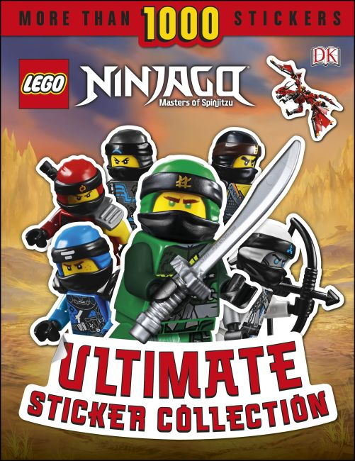Paperback cover of LEGO NINJAGO Ultimate Sticker Collection