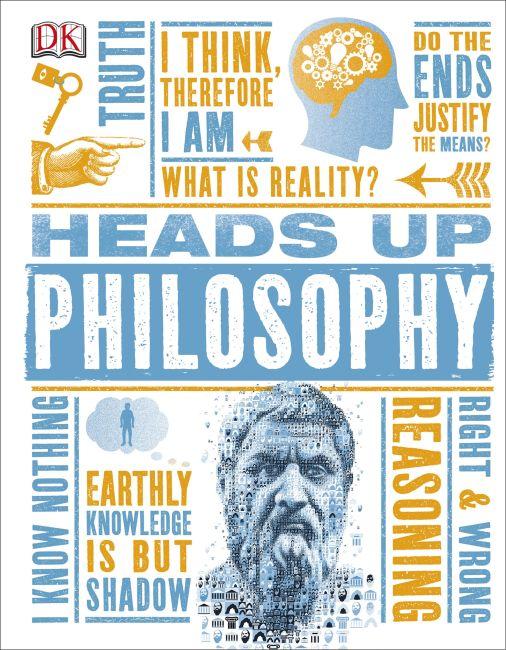 Hardback cover of Heads Up Philosophy