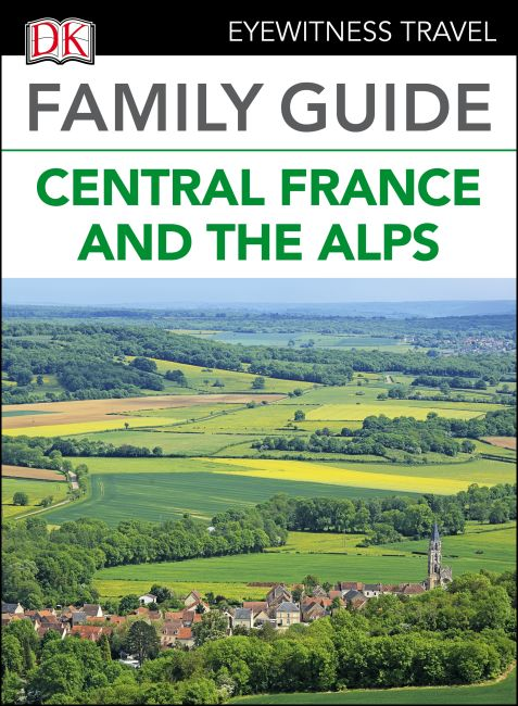 eBook cover of Family Guide Central France and the Alps