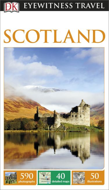 Flexibound cover of DK Eyewitness Travel Guide Scotland