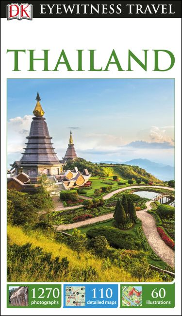 Flexibound cover of DK Eyewitness Travel Guide Thailand