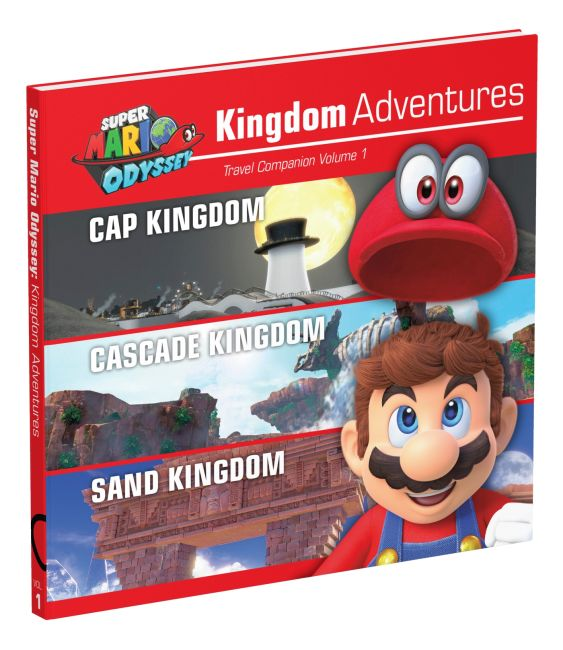 Hardback cover of Super Mario Odyssey: Kingdom Adventures, Vol. 1