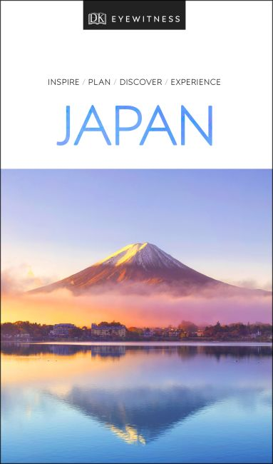 Paperback cover of DK Eyewitness Travel Guide Japan