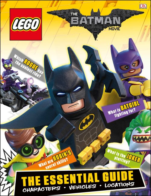 Hardback cover of The LEGO® Batman Movie: The Essential Guide