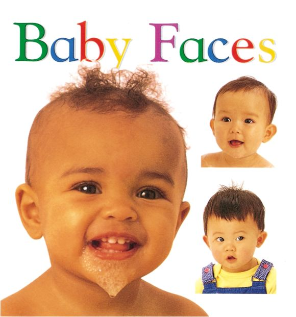 Board book cover of Soft-to-Touch Books: Baby Faces