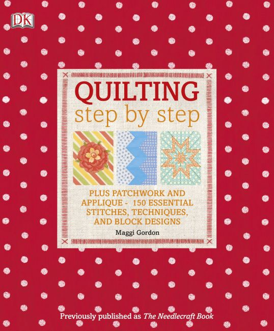 eBook cover of Quilting Step by Step