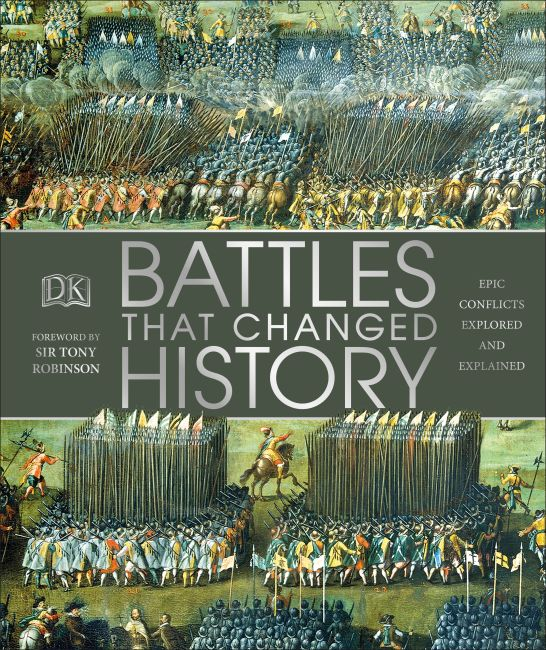 Hardback cover of Battles that Changed History
