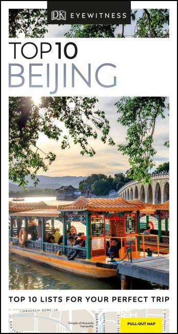 Paperback cover of DK Eyewitness Top 10 Beijing