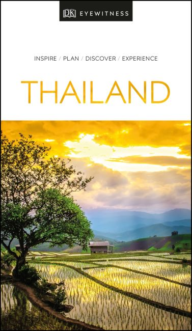 Paperback cover of DK Eyewitness Travel Guide Thailand