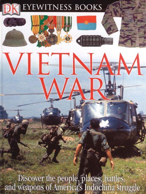 Hardback cover of DK Eyewitness Books: Vietnam War